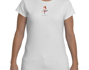 Ladies Barre Is My Happy Hour T-shirt