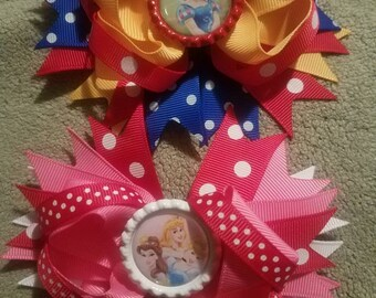 Disney Princess Hairbows!