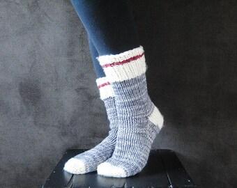 BRAWNY Socks Knitting Pattern