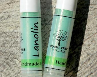 Clear - Chapped/Dry Lip repair - Lanolin Lip Balm - Dry lips - Chapped lips Lip Balm - Natural Handmade SkinCare
