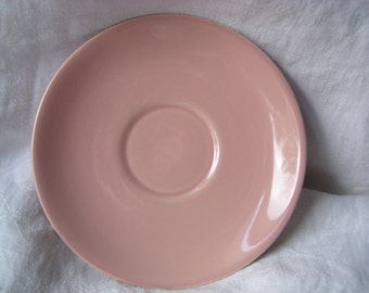 Taylor Smith & Taylor (TST) LuRay Pastels Saucer 1941