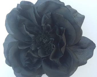 Black Rose - millinery - home decor - bridal - hair accessories