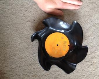 Handmade record bowl