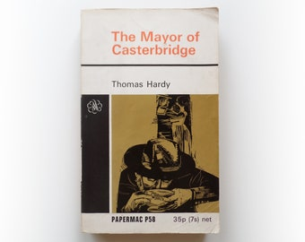 Thomas Hardy - The Mayor of Casterbridge - classic vintage paperback book - 1971