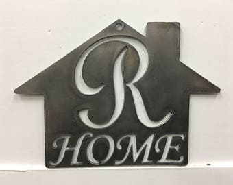 R - Home Plaque