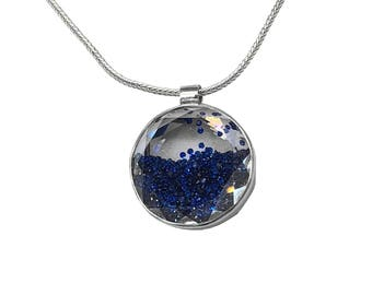 Blue Shake Necklace