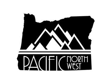 Pacific Northwest Oregon Sticker