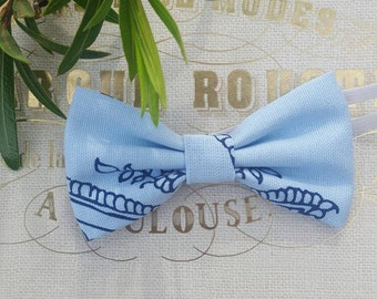 Boys blue bow tie, baby blue bow tie, spring bow ties, light blue bow tie