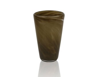 Glass Drinkware- Sienna Brown