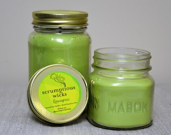 Lemongrass Soy Wax Candle