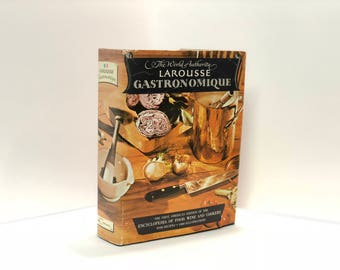 The World Authority Larousse Gastronomique 1961 Encyclopedia of Food Wine & Cookery Prosper Montagne Internationally Famous Bible of Cooking
