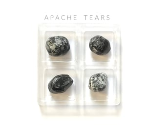 APACHE TEARS---  Rox Box  --- crystal, gemstone gift