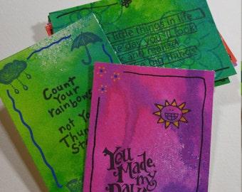 Inspirational Cards (Set of 10)