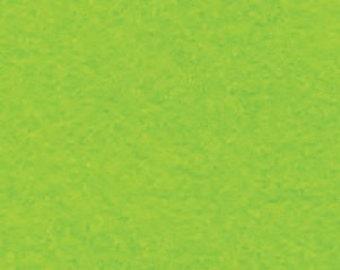 "18"" x 24"" Neon Green Acrylic Felt FQ - equal to 4 Sheets Felt"