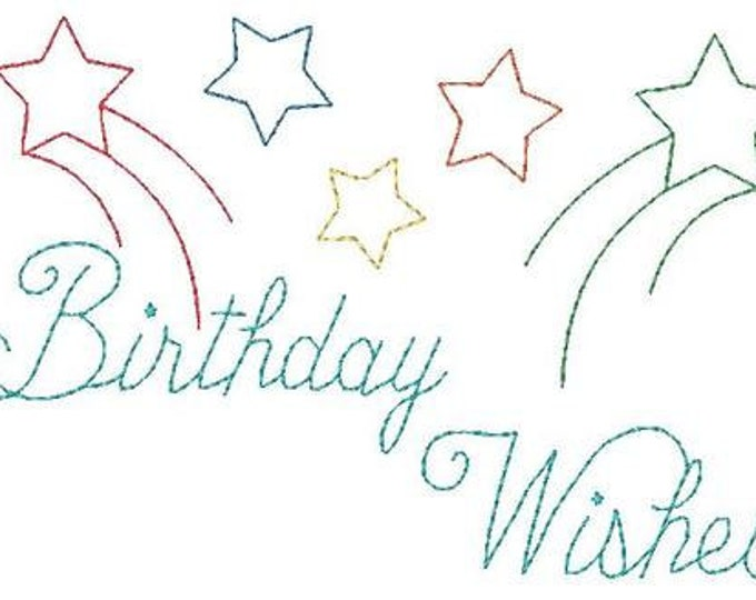 Greeting Cards - Birthday and Get Well  ( 10 Machine Embroidery Designs from ATW )