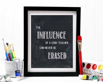 TEACHER GIFT, teacher gifts, teacher prints, gift for teacher, teacher appreciation, teacher printable, teacher gift ideas, T100