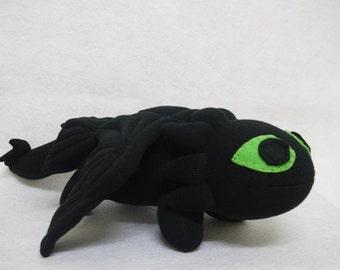 Cute Toothless Dragon / Night Fury Dragon (Small size)
