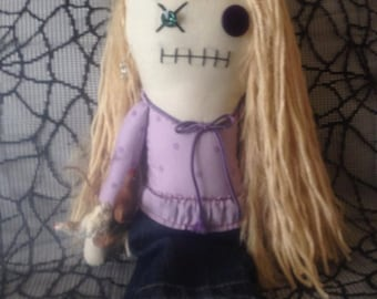 Patricia - Inspired by TWD - Creepy n Cute Zombie Doll (D)