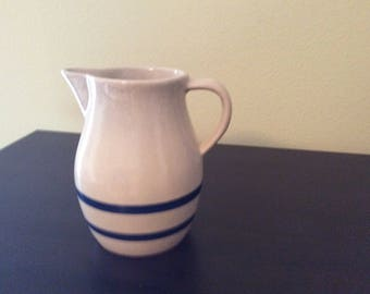 Vintage RRP Blue Banded Pitcher