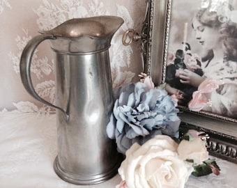 Rustic Pewter Pitcher