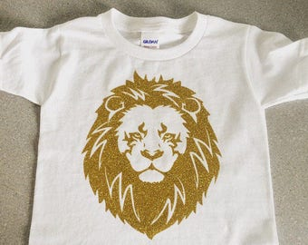 Lion infant bodysuit, boho baby outfit, Lion baby gift, Lion kids shirt, newborn girl outfit, baby shower gift, baby girl outfit