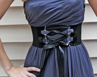Corset Belt Satin D-ring Trim and Ribbon