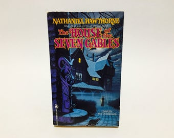Vintage Classics Book The House of the Seven Gables by Nathaniel Hawthorne 1989 Paperback