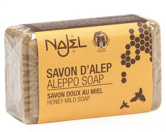 Aleppo soap with Honey 100 gr