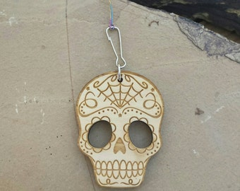 Car Essential Oil Diffuser-Wood Sugar Skull