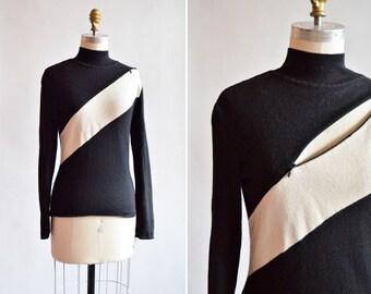Vintage THIERRY MUGLER wool statement sweater