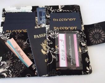 Dollbirdies Family Passport Wallet