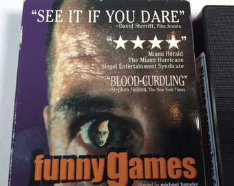 FUNNY GAMES- Michael Haneke 1997 103 mins n/r letterbox edition German with English subtitles THRILLER