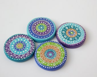 Polymer Clay Pattern Weights, sewing pattern weights, quilters gift, Ready to Ship