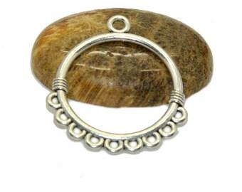 candlesticks 10 30mm silver hoop earrings