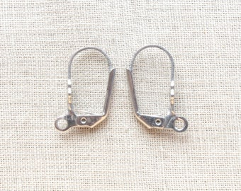 4 support sleeper earrings stainless steel