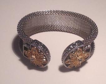 Vintage Silver and Goldtone Bracelet