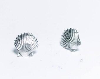 Mini Sea Shell Studs
