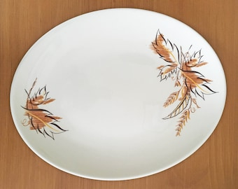 Knowles Autumn Leaves Platter