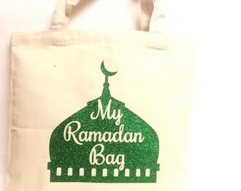 My ramadan bag, masjid bag, kids ramadan gift