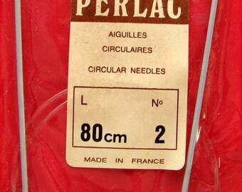 2mm aluminum Perlac circular needle