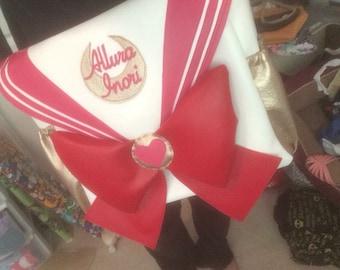 Sailor moon inspired diaper bag