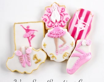 Half Dz. Prima Ballerina Cookies! The Poise of a Prima Ballerina is unmatched.