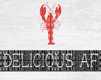 Crawfish Svg Cut File - Crawfish Boil Svg Cut File - Delicious AF Svg Cut File - Louisiana Svg Cut File - New Orleans Svg Cut File