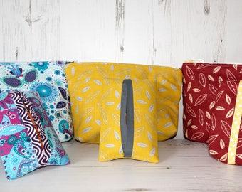 Make-up-Bag - Tissue Holder - Cosmetics Bag - Make-up-Bag and Tissue Holder Sets - Zipper Purse