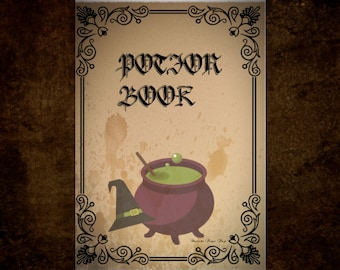 Potion Book cover