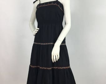 60s 70s Young Edwardian by Anpeja/anpeja midi dress