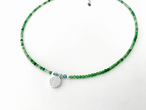 Mini gem choker and Stones N1
