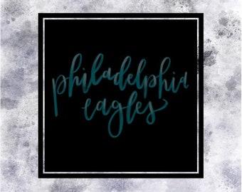 Philadelphia Eagles NFL Team Wall Art Digital Print
