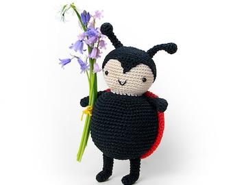 Carlotta the ladybug | amigurumi crochet pattern | PDF pattern download