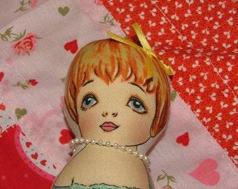 Cheryl Leanne Cloth Paper Doll